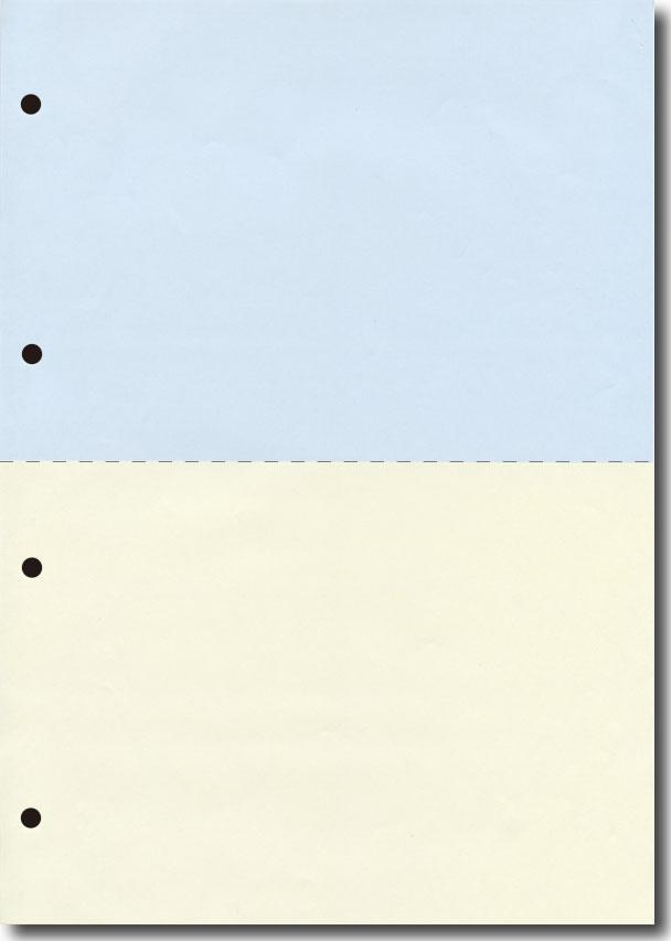 オリジナルプリンタ用紙(A4プリンタ用紙 マイクロミシン)